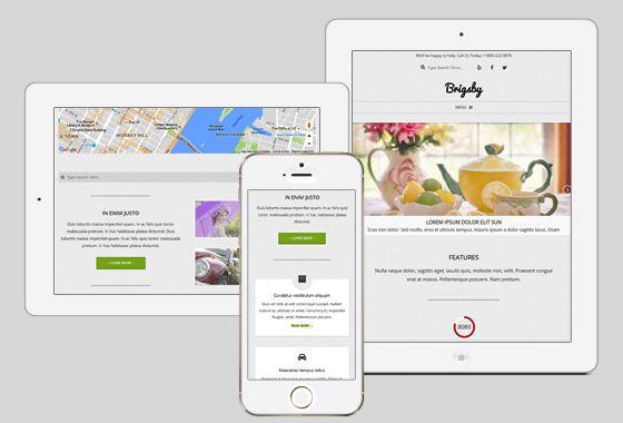 Brigsby WordPress Theme - wpHoot