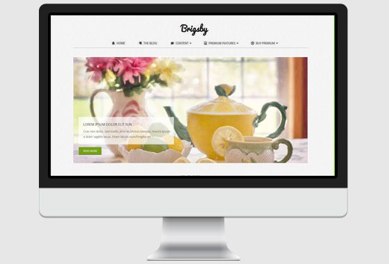 Brigsby WordPress Theme - wpHoot