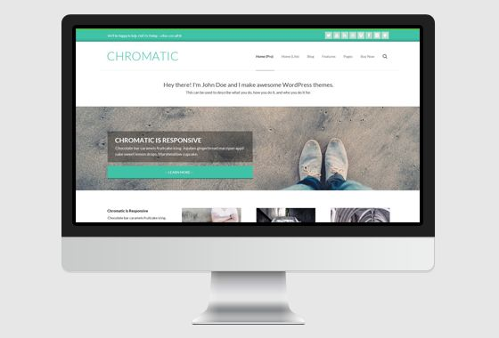 Chromatic WordPress Theme - wpHoot