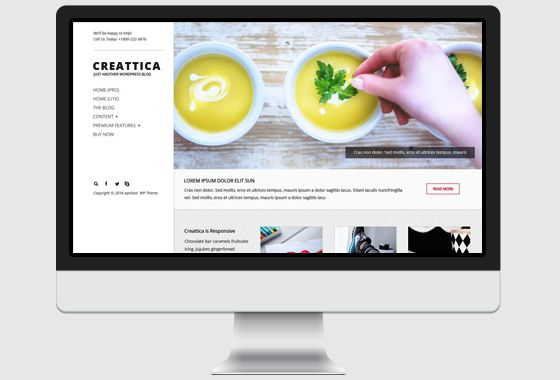 Creattica WordPress Theme - wpHoot