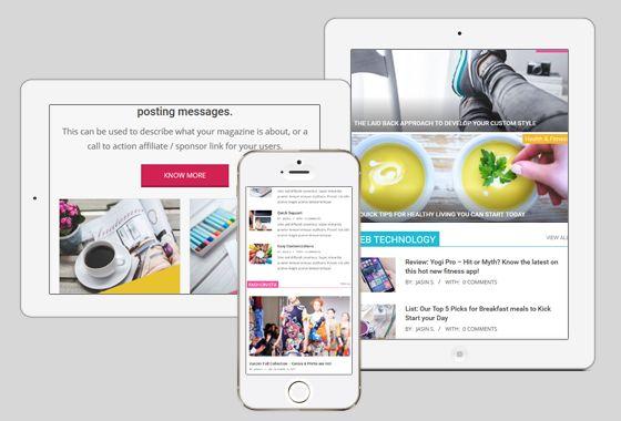 Magazine Hoot WordPress Theme - wpHoot
