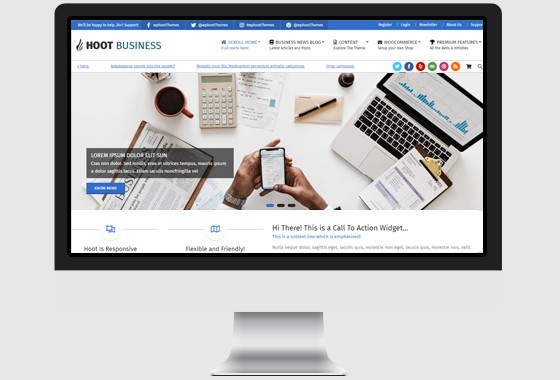 hoot business wordpress theme wphoot