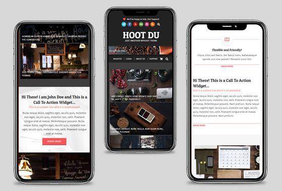 Hoot Du WordPress Theme - wpHoot