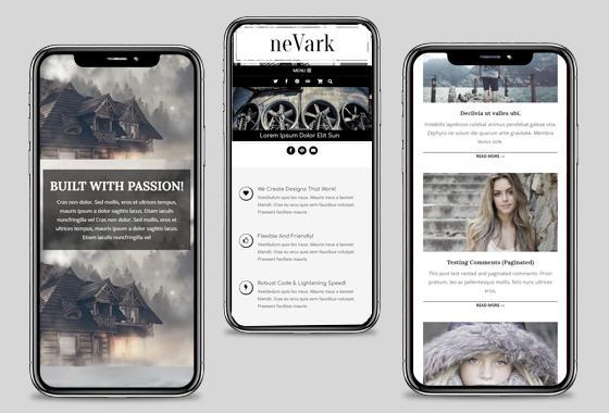 Nevark WordPress Theme - wpHoot