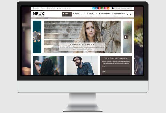 Neux WordPress Theme - wpHoot